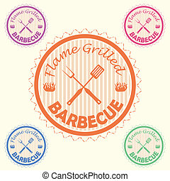 flame grilled barbecue