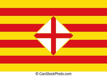 Barcelona province flag