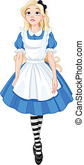 Beautiful Alice - Illustration of Beautiful Alice from...