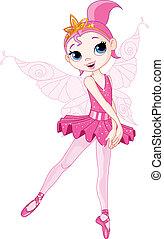 Illustration of beautiful Dancing Ballerina