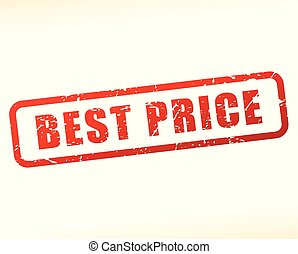 best price red stamp design
