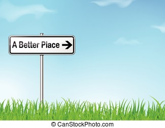 better place sign