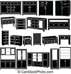 big dressers collection