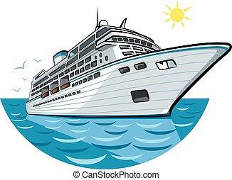 big ocean liner