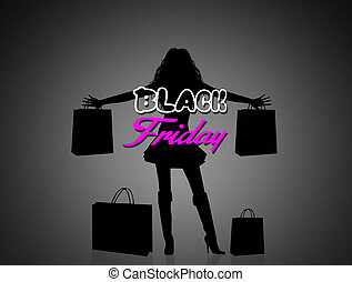 Black friday - illustration of Black friday