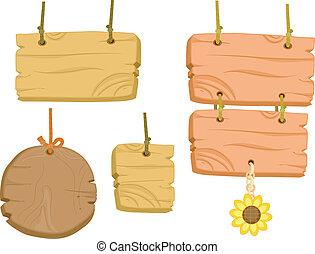 Blank Wooden Boards