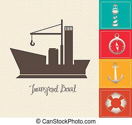 Illustration of boat