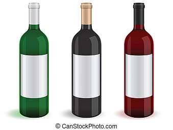 Illustration of bottles.