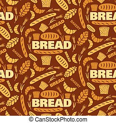 bread seamless pattern