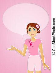 illustration of Breast cancer prevention