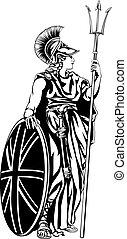 Illustration of Britannia