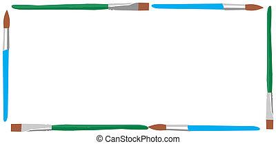 Illustration of brushes