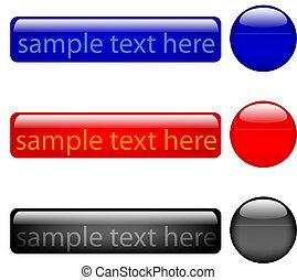 buttons - vector
