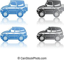 illustration of  cars