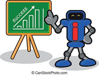illustration of cartoon business