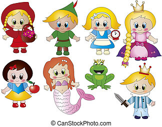 doodle story - illustration of Cartoon doodle story