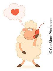 sheep speaks by phone