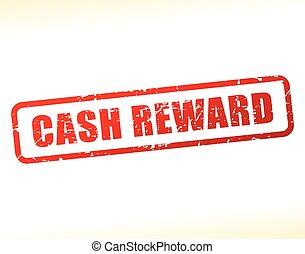 cash reward text buffered