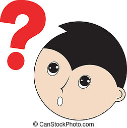 character with question mark