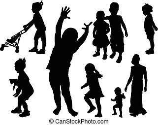 children collection - vector