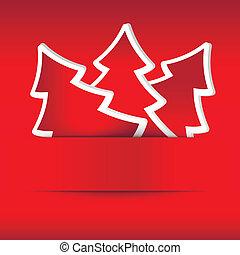 Illustration of christmas card
