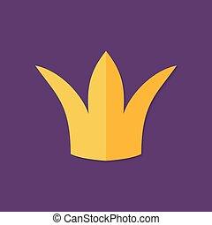 Christmas Crown Flat Icon