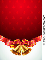 Christmas decorative background - illustration of Christmas ...