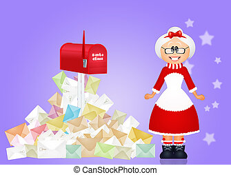 Christmas letters for Santa Claus
