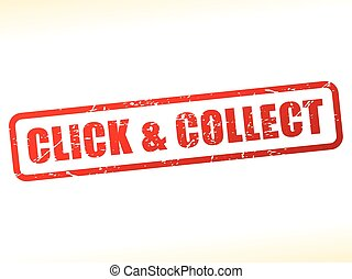 click and collect text buffered