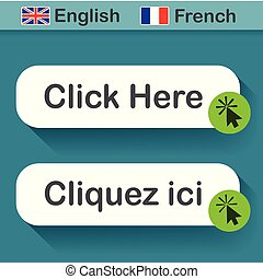 click here button with french translation