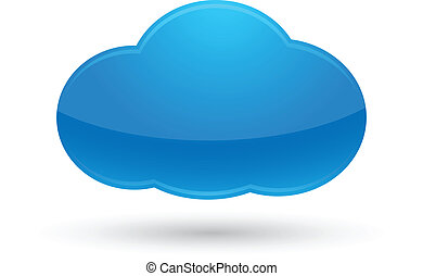 cloud computing icon vector clipart royalty free 28 315 cloud rh canstockphoto com cloud computing clipart black and white Cloud Computing Benefits
