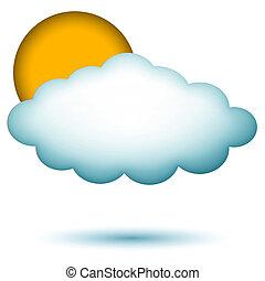cloud with sun