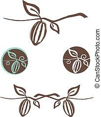 Cocoa Logo Design Set