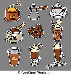 offee drinks stickers