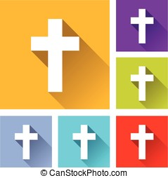 christian cross icons