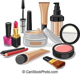 cometics and make up collection