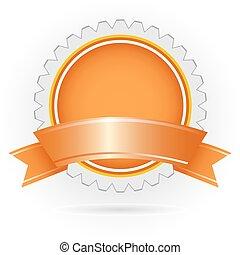 company logo - illustration of company logo on white...