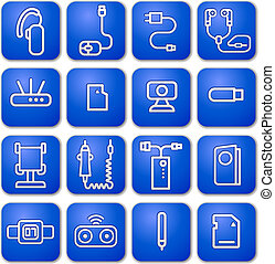 accessories icons for mobile