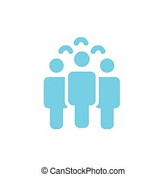 Illustration of crowd of people icon silhouettes vector. Social icon. Flat style design. User group network. Corporate team group. Business team work activity. vector illustration.