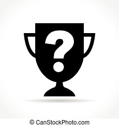 cup with question mark icon