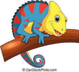 Cute Chameleon cartoon