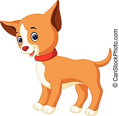 Cute dog cartoon - Illustration of Cute dog cartoon