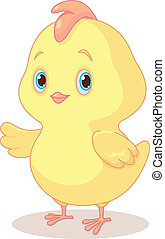 Easter Chick - Illustration of Cute Easter Chick