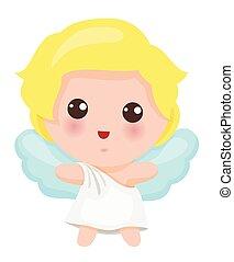 Illustration Of Cute Little Angel