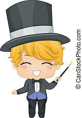 Little Boy Magician
