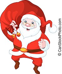 Santa Claus  - Illustration of cute Santa Claus