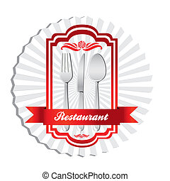 illustration of cutlery