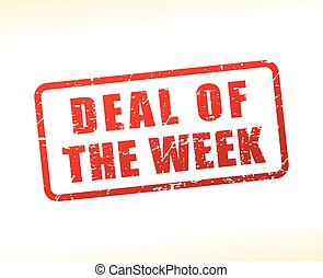 deal of the week text