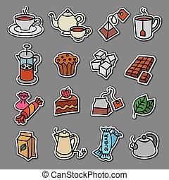 tea stickers