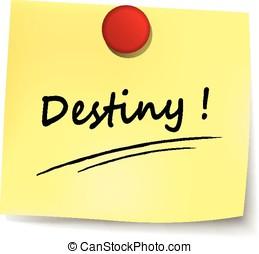 destiny note